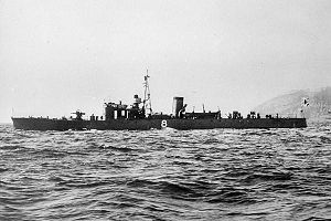 IJN No8 submarine chaser in 1938.jpg