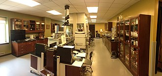 Conservation scientist - Indianapolis Museum of Art Conservation Science Laboratory.