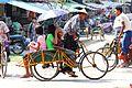 IMG4098 Burma Sittwé City Family Transportation (7313687656).jpg