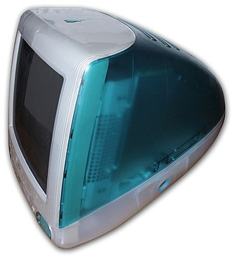 IMac G3 - iMac G3 in its original Bondi Blue color