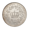 INC-3200-r Талер Бавария Людвиг I 1827 г. (реверс).png