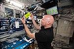 ISS-56 Alexander Gerst works in the Harmony module (2).jpg