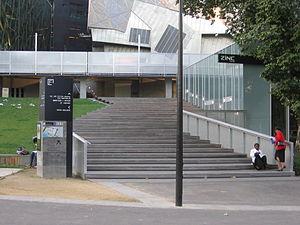 Ian Potter Centre: NGV Australia - The entrance to the Ian Potter Centre