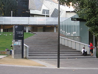Ian Potter Centre: NGV Australia - The entrance to the Ian Potter Centre