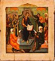 Icon of Jesus among the Doctors (Mstera, c. 1800).jpg
