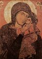 Icon of Panagia glykofiloussa from Panagia Episcope church at Santorini-2.jpg