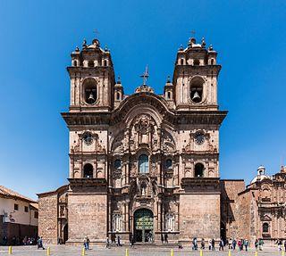 <i>Iglesia de la Compañía de Jesús, Cusco</i> Church in Cusco, Peru
