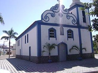 Conceição da Barra - Main church of Conceição da Barra