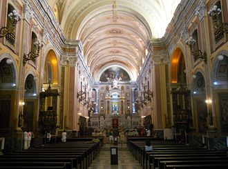 Our Lady of Grace Cathedral, Belém - Internal view
