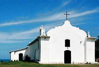 Bahia - Church in Porto Seguro.