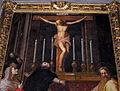 Il poppi, crocifisso che parla a san tommaso e santi (1590 ca) 04.JPG