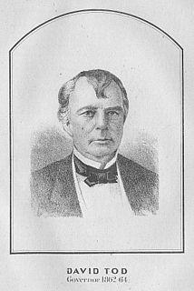 David Tod American businessman, lawyer, diplomat and railroad executive