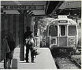 Inbound train at MBTA Airport Station, 1985.jpg