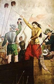 Inés Suárez a Spanish conquistadora