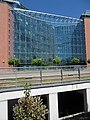 Infopark 'C' building (2005), glass wall, 2017 Újbuda.jpg