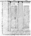 Ingots in balancing chambers, Otto's Encyclopedia.jpg