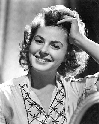 Ingrid Bergman - Bergman in 1944
