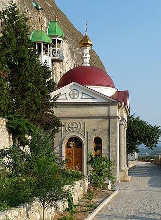 Inkerman - Image: Inkerman cave monastery 2009 G1