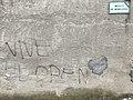 """Inscription """"Vive Le Pen"""" sur un mur de l'Impasse du Monderoux.JPG"""