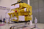 Inspection of Astrosat-1 in clean-room prior to its launch.jpg