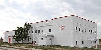 Interior, South Dakota - Interior School Building