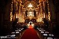 Interior da Igreja de São Francisco de Paula, Rio de Janeiro - Nave, vista para o coro alto (1).jpg