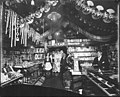 Interior holiday display of Jimmy's Place, Dawson, Yukon Territory, probably between 1902 and 1910 (AL+CA 1399).jpg