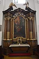 Interior of the Church of the Finding of the True Cross (Brno) 02.jpg