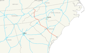 Interstate 26 map.png