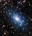Intracluster light in Abell S1063.jpg