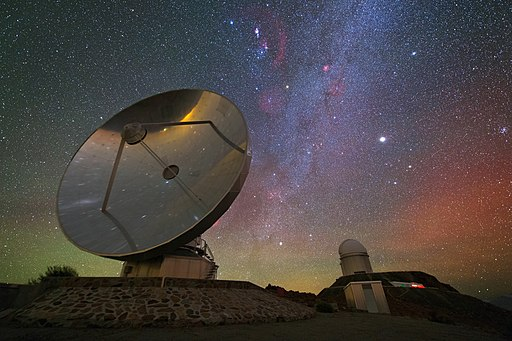 Iridescent Nightscape over La Silla