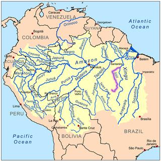 river in Brazil