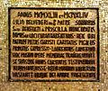 Iscrizione mosaico di Vincenzo Camerino - Catacombe Priscilla.jpg