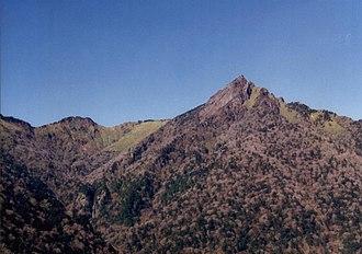 Mount Ishizuchi - Image: Ishizuchi 1