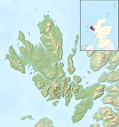 Eilean Fladday is located in Isle of Skye