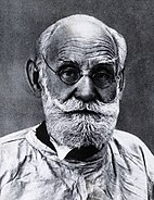 Ivan Petrovitch Pavlov.  Fotografía después de una fotografía tomada por Wellcome V0027010.jpg