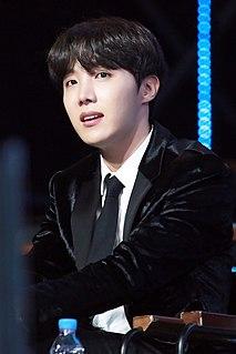 J-Hope South Korean rapper, dancer, singer, songwriter, and record producer