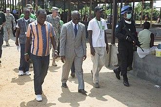 Sinoe County - Ebola treatment mission in Greeneville