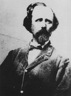 Joseph R. Davis - photographed in the early 1860s