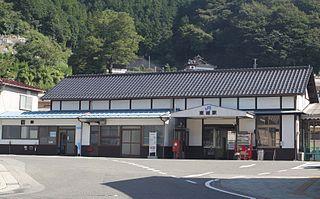 Tōjō Station (Hiroshima) Railway station in Shōbara, Hiroshima Prefecture, Japan