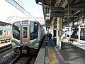 JR East Kuha E720-40 at Kōriyama Station.jpg