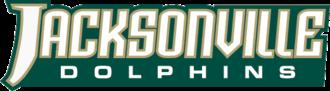 2010 Jacksonville Dolphins football team - Image: JU Dolphins wordmark