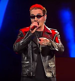 "J Balvin - J Balvin performing ""Ginza"" during the 2017 Viña del Mar International Song Festival"