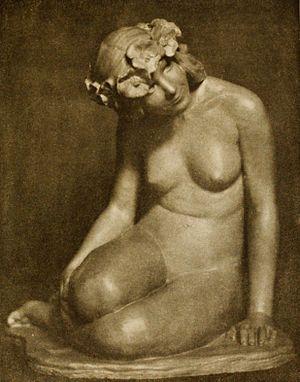 Jo Mora - Poppy Girl, 1915
