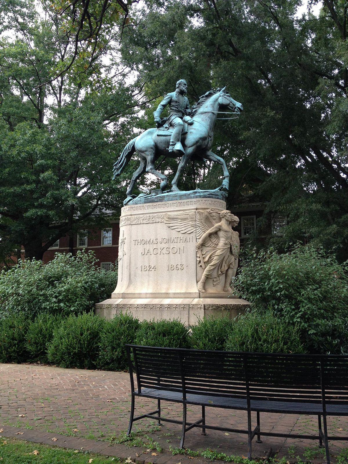 Thomas Jonathan Jackson Sculpture Wikipedia