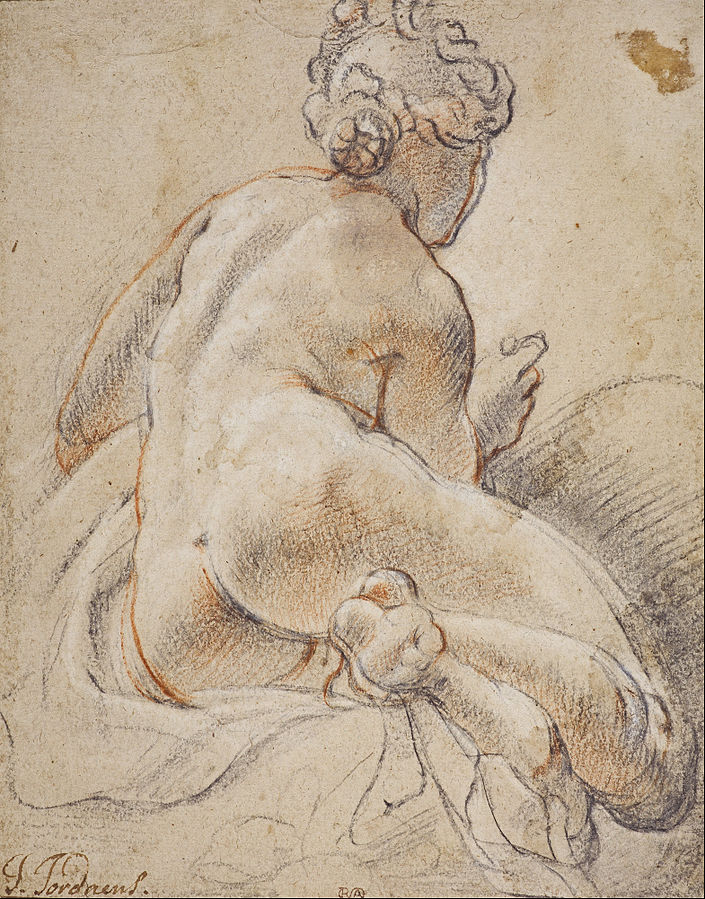 Female Nude, Seen from the Back