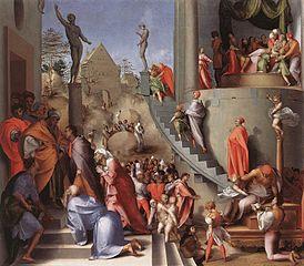 Joseph with Jacob in Egypt