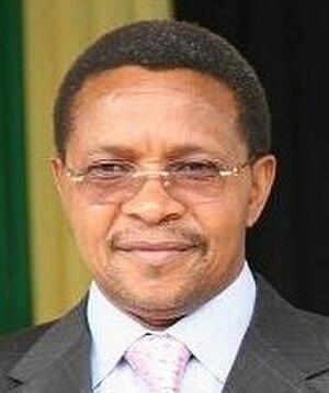 Minister of Finance (Tanzania) - Image: Jakaya Kikwete, Tanzania
