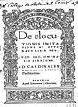 Jakob Omphal 1500-1667 De eluctionis imitatione1.jpg