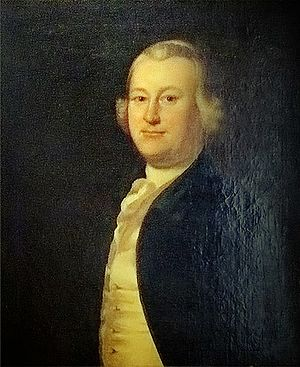 Sir Francis Bernard, 1st Baronet - James Otis Jr., portrait by Joseph Blackburn; he was one of Bernard's leading opponents.